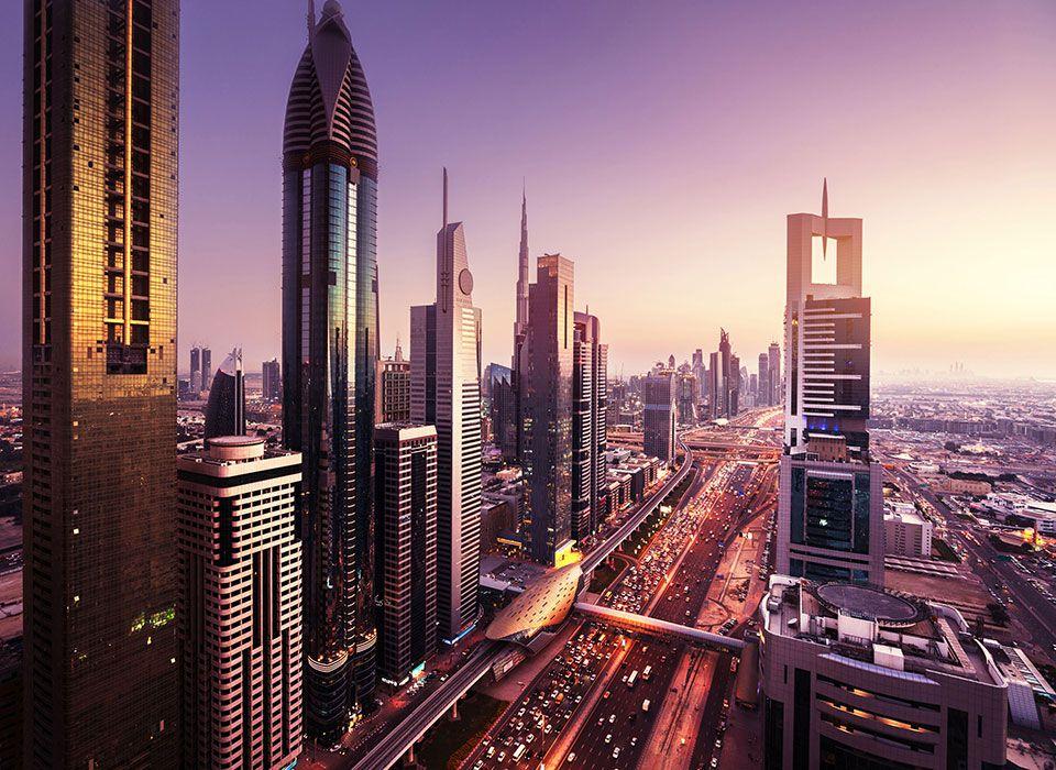 Dubai: Skyline
