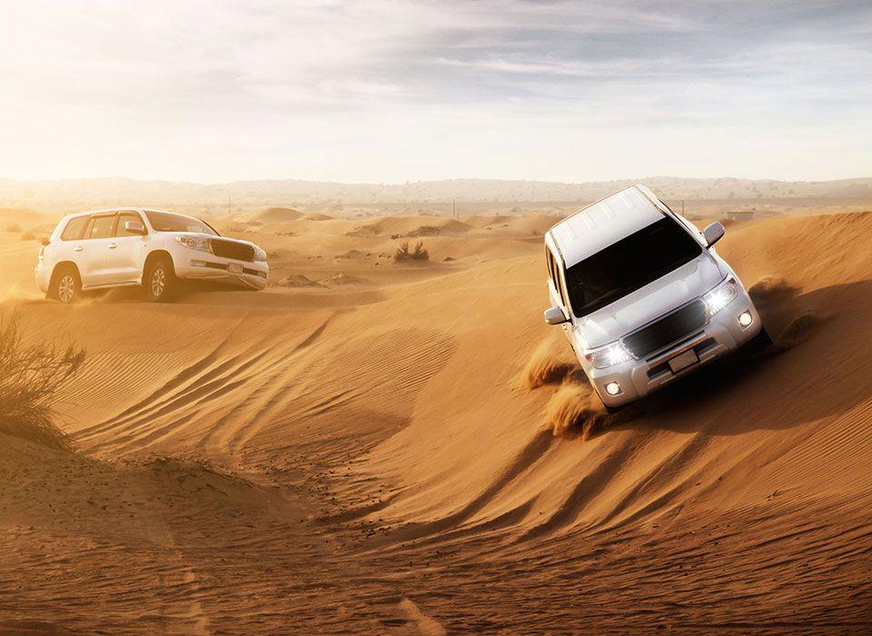 Dubai: Wüstentour mit Jeeps