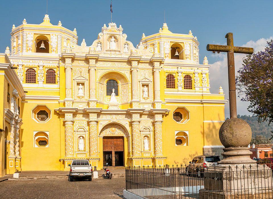 guatemala-antigua-la-merced-kirche
