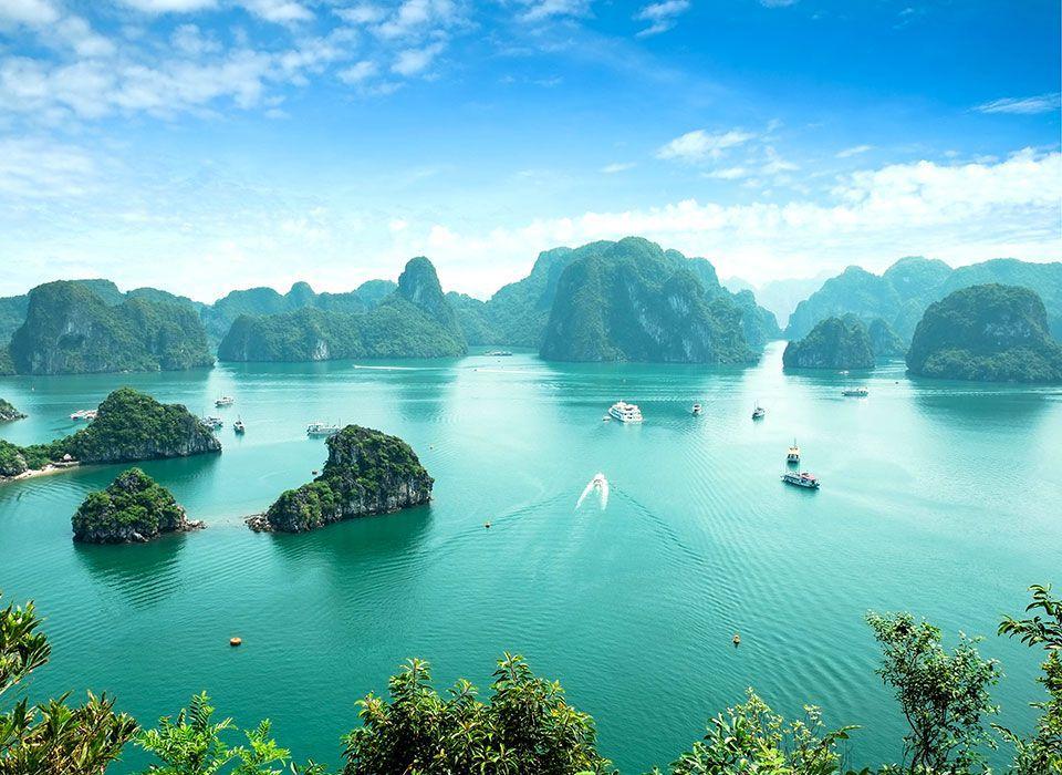 Vietnam: Halong Bay Unesco Weltkulturerbe