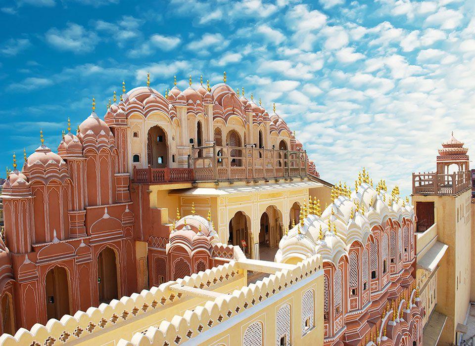 Indien - Rajasthan Jaipur: Palast der Winde