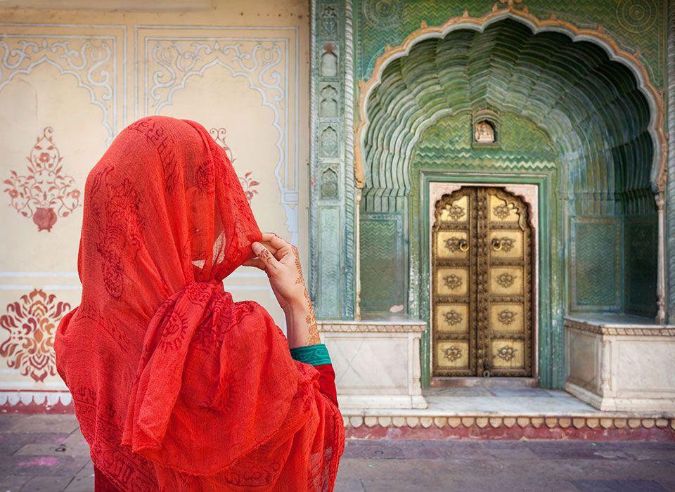 Indien - Jaipur: Stadtpalast