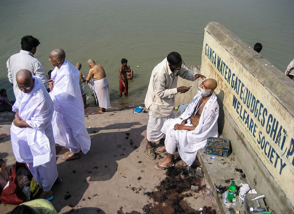 Am Ganges in Kalkutta