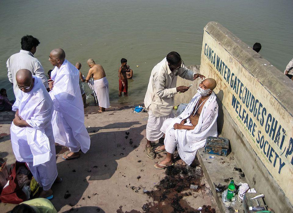 Am Ganges in Kalkutta