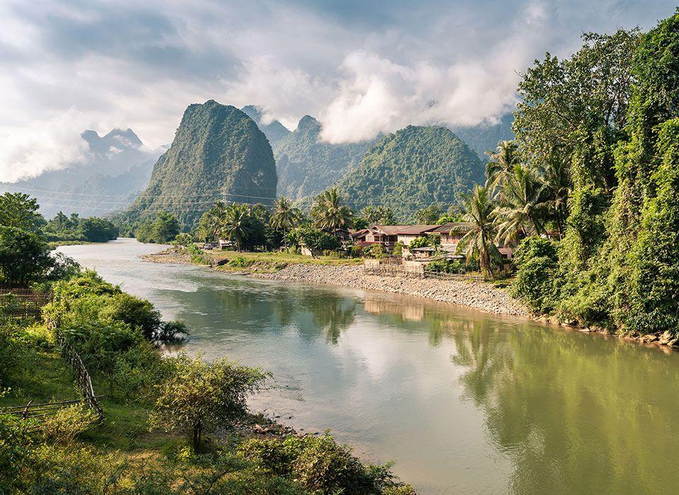 Laos: Der Mekong
