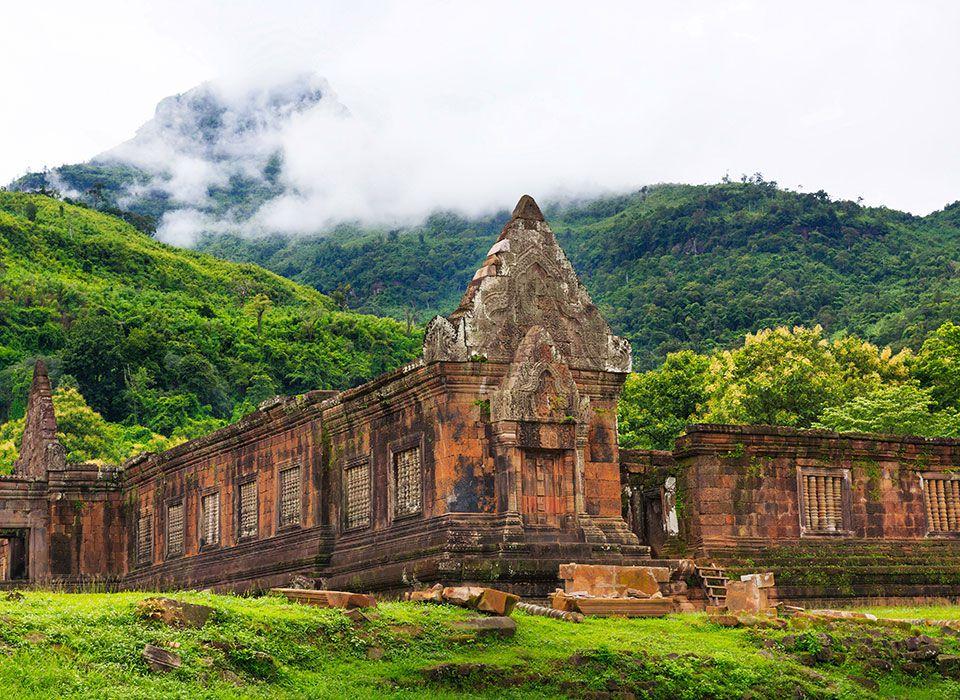 Laos: Wat Phou Tempel - Unesco Weltkulturerbe