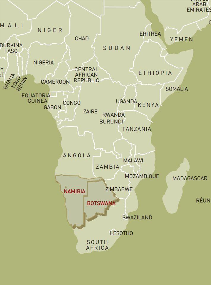 luxusreise-rundreise-botswana-nambia-karte