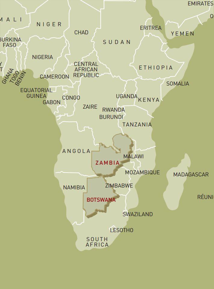 luxusreise-rundreise-botswana-sambia-karte