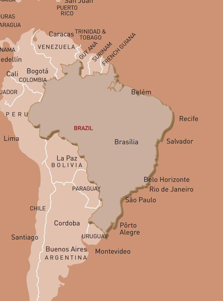 luxusreise-rundreise-brasilien-karte