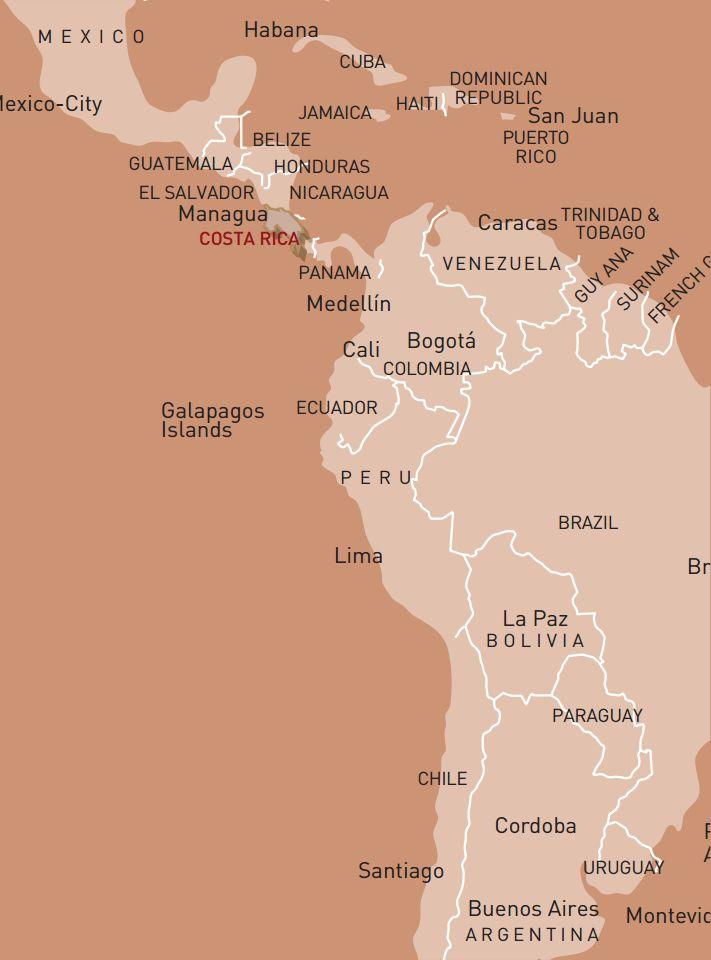 luxusreise-rundreise-costa-rica-karte