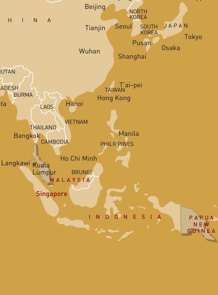 luxusreise-rundreise-malaysia-papua-neuguinea-karte