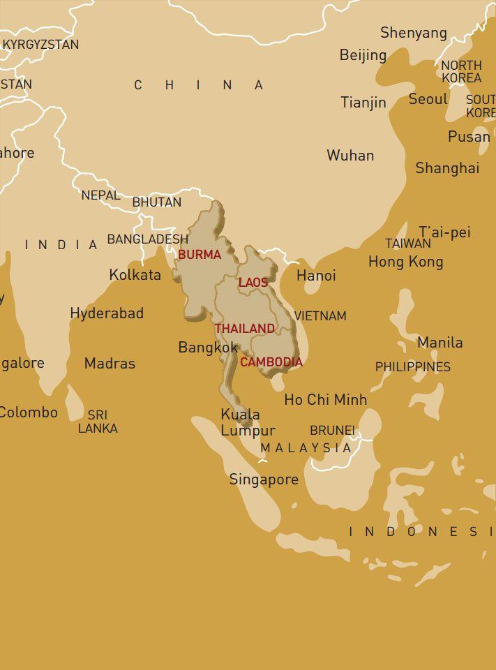 Luxusreise durch Laos, Myanmar, Thailand & Kambodscha