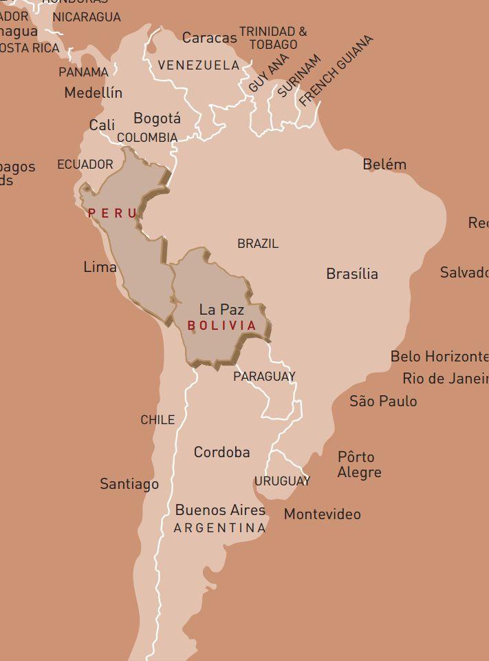 luxusreise-rundreise-peru-bolivien-karte