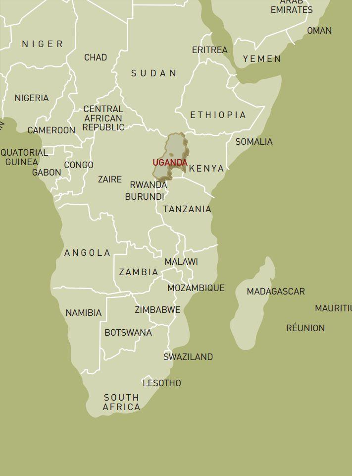 luxusreise-rundreise-uganda-karte