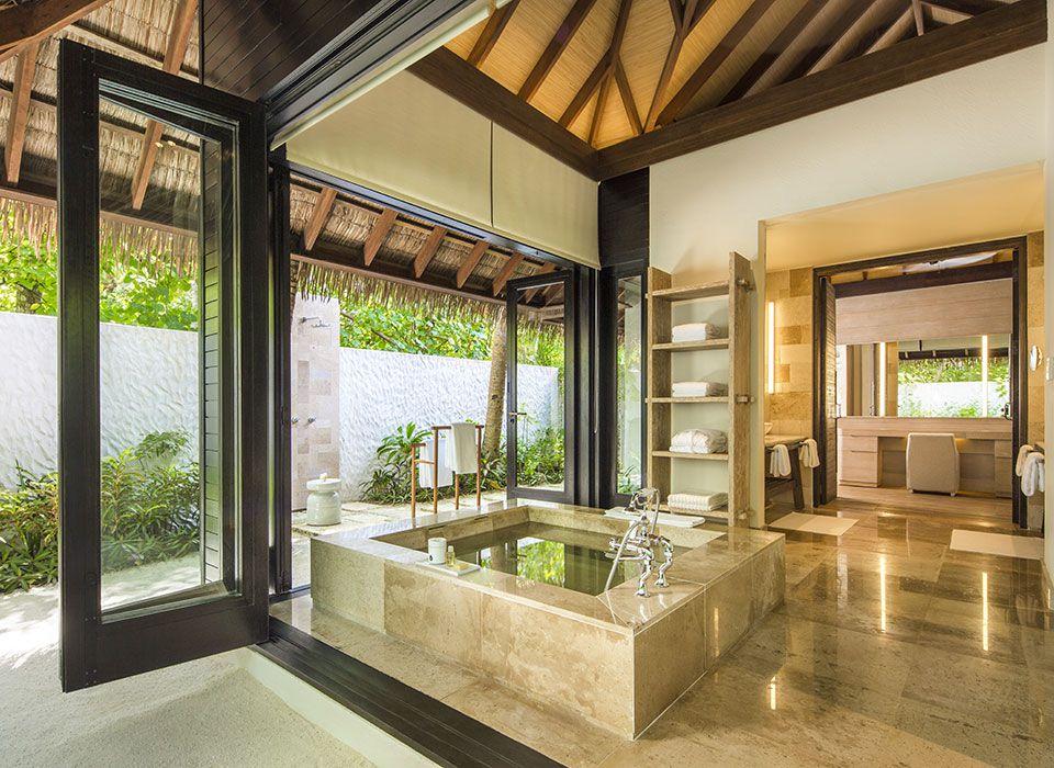 COMO Maalifushi - Malediven - Thaa Atoll - Beach Suite - Badezimmer