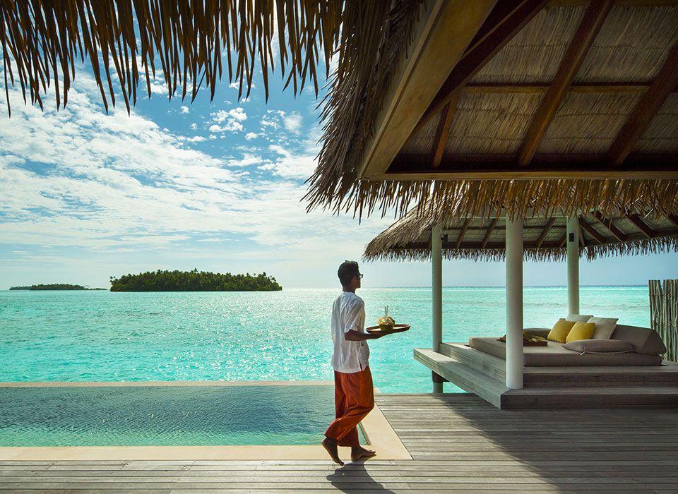 COMO Maalifushi - Malediven - Thaa Atoll - Overwater Suite - Deck