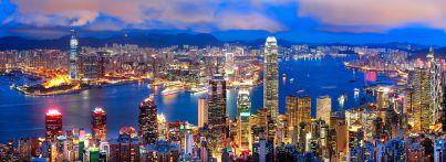 China Hong Kong Panorama